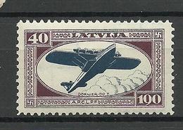 LETTLAND Latvia 1933 Michel 231 A * - Lettland