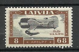LETTLAND Latvia 1933 Michel 228 A * - Lettonie