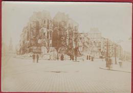 Originele Oude Foto Antwerpen Volkstraat Geuzenstraat Oktober 1914 Bombardement WW1 WWI World War 1 Photo Old - 1914-18