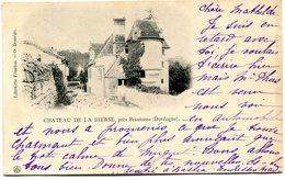 CHATEAU DE LA HIERSE_BRANTOME - Brantome