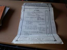 Dr Wukkner Lajos Dalest Budapest 1913 Programs  Chansons, Mozart... - Programs