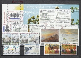 Denmark - Greenland 1999 Unmounted Mint / Never Hinged Complete Volume In Clean Conservation - Dänemark