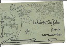 La Carte Postale - Série Complète De 10 Cartes - Fabrication De La Carte Postale - RRR - Cartes Postales