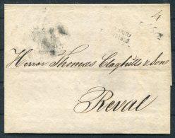 1833 Finland Pre-stamp Vorphila Wrapper - Reval Via Abo - Finland