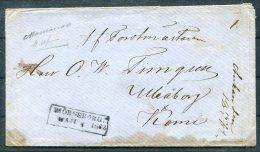 1862 Finland Bjorneborg Cover - 1856-1917 Russian Government