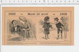 2 Scans Humour Demi-deuil Jouet Enfant Cerceau Jeu Bonbons Confiserie PF223A - Old Paper