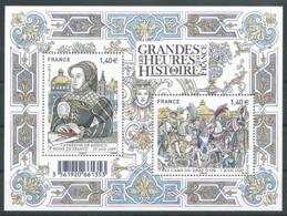 France 2016 - Les Grandes Heures De L'Histoire De France - Blocs & Feuillets