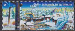 UNO Wien 2003 MiNr.393 - 394 ** Postfrisch Intern. Jahr Des Süßwassers ( 5095 ) Günstige Versandkosten - Wien - Internationales Zentrum