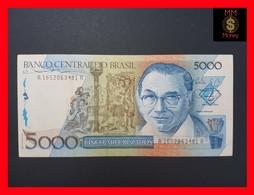 BRAZIL 5.000 5000 5000 Cruzados 1988 P. 214  VF+ - Brazil