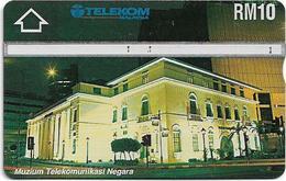 Malaysia (Kadfon) - Telekom Museum - L&G - 410E - 1994, 10RM, 100.000ex, Used - Malaysia