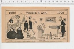 2 Scans Humour Irrigateur Médical Lavement ( ?? Eguisier ??)  Galilée Ivrognes Pot De Chambre PF223A - Old Paper