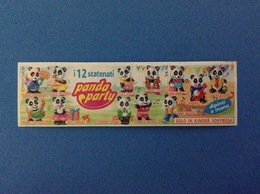 PANDA PARTY CARTINA KINDER FERRERO - Notices