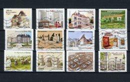FRANCE - AUTOCOLLANT -  PATRIMOINE DE FRANCE -  N° Yvert 865/876 Obli. - Adhésifs (autocollants)