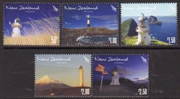 New Zealand 2009 Lighthouses Set Of 5, Ref. 143 - Lighthouses