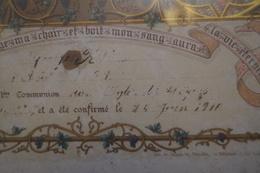 Certificat De Baptème 1907 - Historical Documents