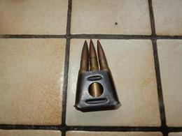 Clips De 3 Cps  Armée Francaise Berthier 8mm - Armes Neutralisées