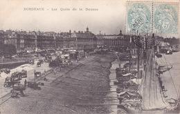 CPA - 33 - BORDEAUX - Les Quais De La Douane - Bordeaux