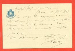 INTERI POSTALI-CARTOLINE POSTALI--S8/02 - CAMERA DEI DEPUTATI - DA ROMA PER SAN SEVERINO MARCHE - 1900-44 Vittorio Emanuele III