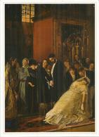 ''Le Mariage Inégal'' Par Vassily Poukirev, Musée Des Beaux-Arts De BAKU, CP Neuve 20 X 14 Cm - Azerbaïjan