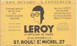 Buvard Lunettes LEROY - Blotters