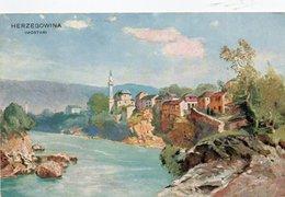 HERZEGOWINA-MOSTAR 1900-NON VIAGGIATA - Bosnia Erzegovina