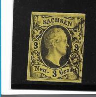 Sachsen Mi.Nr. 6 /  Seitich Gestempelt - Sachsen