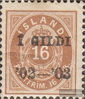Iceland 29B Unmounted Mint / Never Hinged 1902 Print Edition - Prephilately