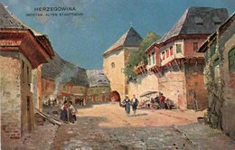 HERZEGOWINA-MOSTAR-ALTES STADTTHOR 1900-NON VIAGGIATA - Bosnia Erzegovina