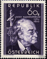 Austria 951 (complete.issue.) With Hinge 1950 Joseph Madersperger - 1945-60 Unused Stamps