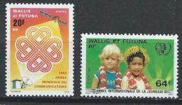Wallis-et-Futuna YT 305 + 331 XX / MNH - Wallis And Futuna