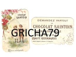 CHROMO CHOCOLAT SAINTOIN A DECOUPIS - RETOUIR DE LA PECHE - Andere