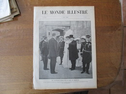 LE MONDE ILLUSTRE N°2732 7 AOÛT 1909 LE DE-THAM,L'EMPEREUR DE RUSSIE A CHERBOURG,LES ESPAGNOLS AU MAROC,LES ABRIS DU MAR - Books, Magazines, Comics