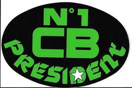 Autocollant Publicitaire Marque CB  N°1   Radio Locale - Stickers