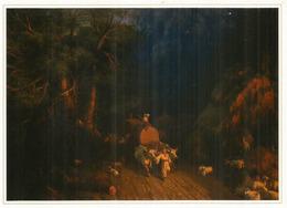 ''Le Chemin De La Forêt'' 1857, Par Ivan Aivazovsky , Musée Des Beaux-Arts De BAKU, CP Neuve 20 X 14 Cm - Azerbaïjan