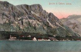 BOCCHE DI CATTARO,DOBROTA-VIAGGIATA 1910 - Montenegro