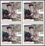 MERCATOR, G. - Germany 2012 Michel # 2918 - Bloc Of 4 ** MNH - Geographer, Mathematics, 500th Birthday Of Mercator - Geographie