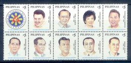 M83- Filippine Philippines Philippinen Pilipinas 2000 Presidents Of The Philippine. - Philippines