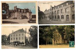 Lot 10 CPA & CPSM France  / Grandfresnoy, St Pourçain, Taissy, Bar-le-Duc ... / A Voir !!! - Cartes Postales