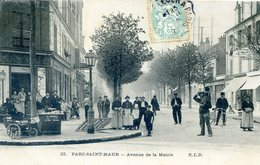 PARC-SAINT-MAUR : Avenue De La Mairie - France