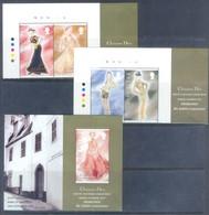 M86- Gibraltar 1997. Designed By John Galliano. Complete Set & Souvenir Sheet. - Gibraltar