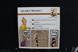 Fiche Atlas,TINTIN (extrait De, L'Ile Noir) - Religions Et Légendes, N°26  Qui était Le Minotaure ? - Collections