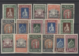 Lituanie -Lietuva -  (1933 )  Série  N° 327/334 (avec  Dentelé ) - Lithuania