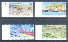 M90- Mauritius 2002. 10th Anniversary Of The Republic. - Mauritius (1968-...)