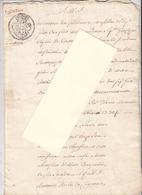 CORTONA (AR) - 5 Marzo 1783 - Inventario Beni - Proprietari Ed Eredi - Manoscritti