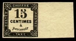 France Taxe N° 4 Neuf * Grand BdF- Signé Calves/Brun - Qualité LUXE - Taxes