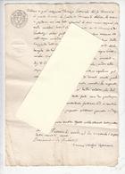 REGNO DELLE DUE SICILIE 1834 - Documenti Di Vendita - Manoscritti