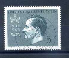 1963 LIECHTENSTEIN N.377 USATO - Liechtenstein