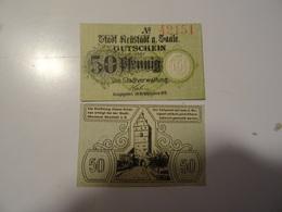 ALLEMAGNE  50 PFENNIG   1919 - To Identify