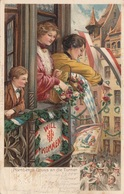 X.DEUTSCHES TURNFEST ZU NÜRNBERG 1903 - Karte Gel.1903 Von Nürnberg Nach Lehe, Gute Erhaltung - Leichtathletik