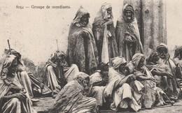 ALGERIE GROUPE DE MENDIANTS - Algeria